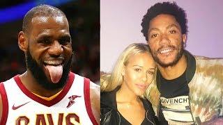 LeBron James Takes Derrick Rose's Girlfriend (Parody)