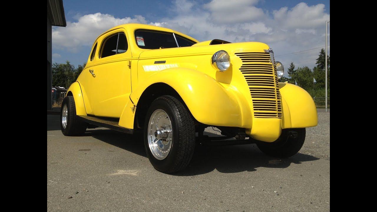 Car That Runs On Air >> 1938 Chevy Gasser - YouTube