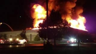 GAP warehouse fire fishkill ny