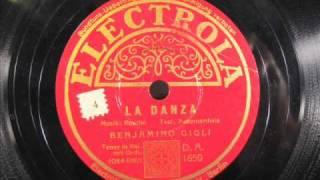 Italian Opera - LA DANZA by Benjamino Gigli late 1920s