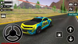 Police Drift Car Simulator Driving - DODGE Police Car Unlocked Android GamePlay FHD