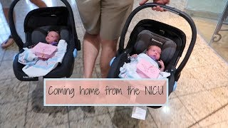 Bringing our Twins home from NICU