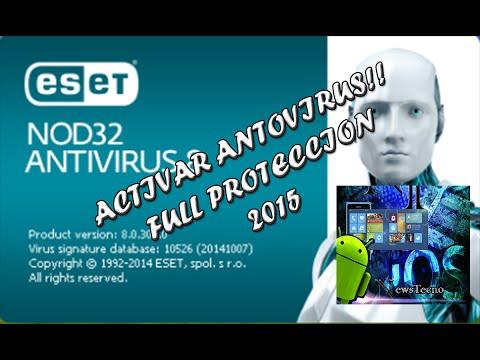 Activar antivirus ESET NOD 32 - Tutorial en español 2015 - 32 y 64 bits