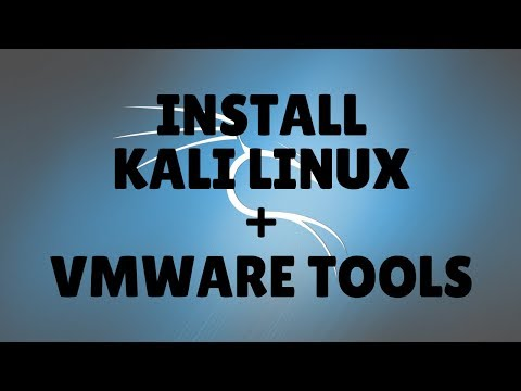 how to use vmware tools in kali linux