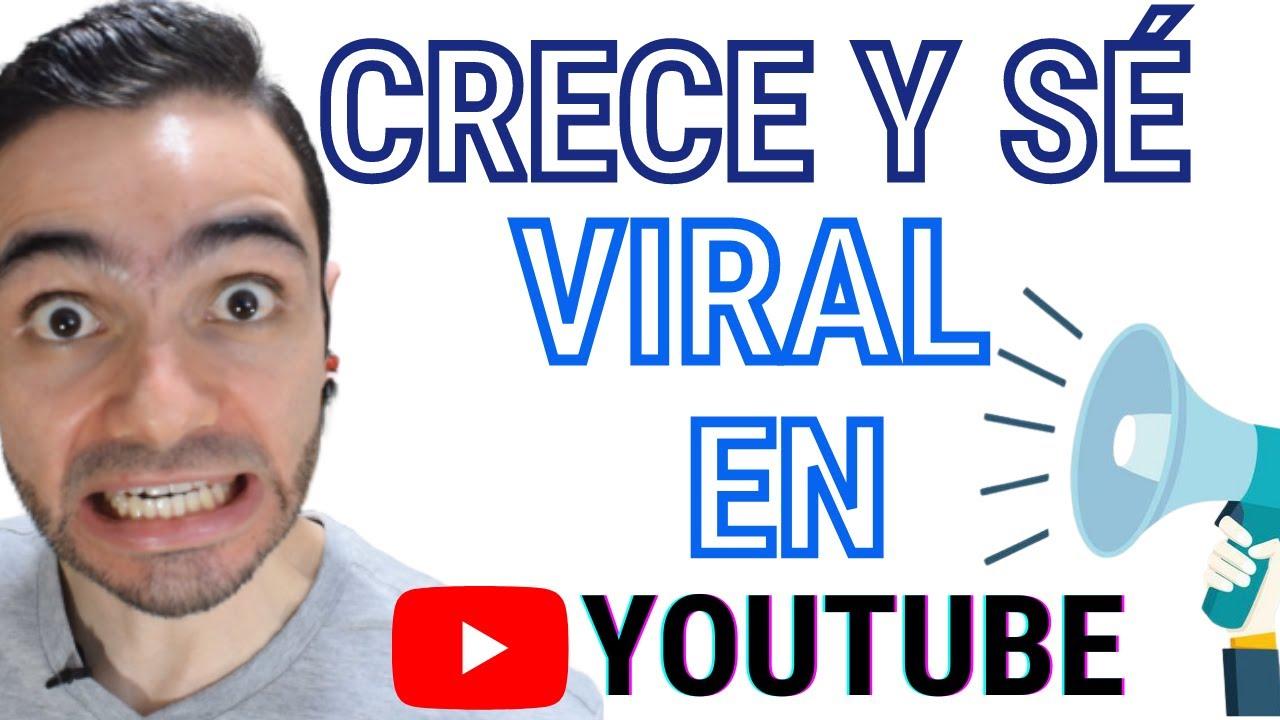 Cómo Crecer En YouTube 📹 Contenido Viral