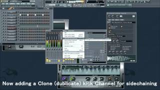 How to make Bassline for Uplifting Trance in FL Studio 10 - Video Tutorial