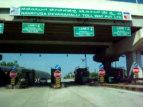 Beautiful Drive on Bengaluru Airport Road