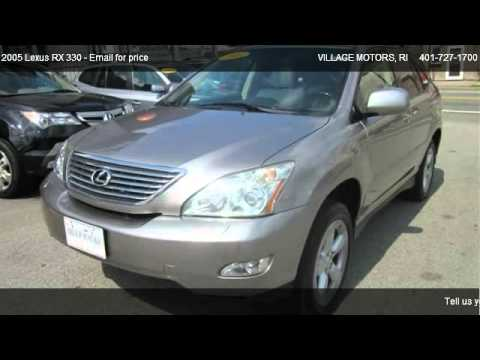 2005 Lexus Rx 330 Thundercloud Edition For Sale In North