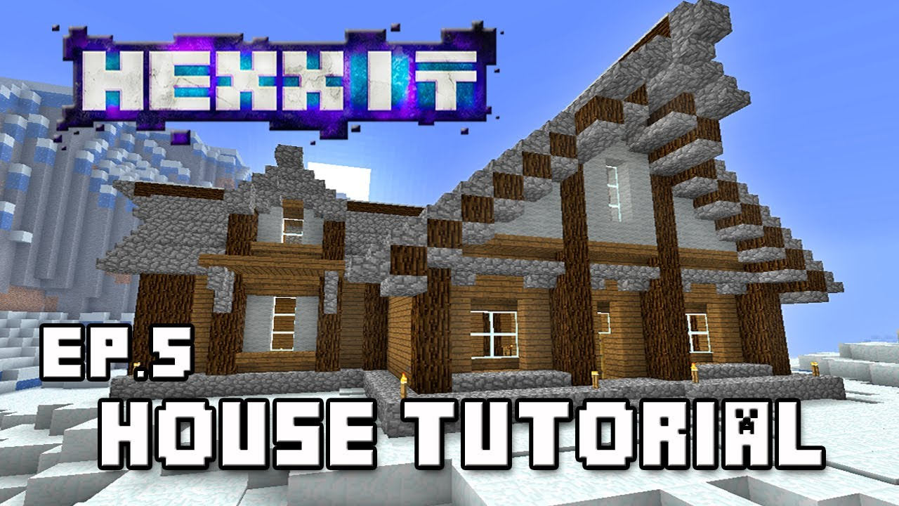 Hexxit let 39 s play how to make a house themed to for Cool window designs