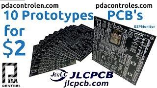 10 Prototypes PCB