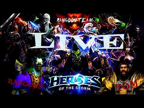 Heroes of the Storm #1 Rangoon & Tomi Duo Live