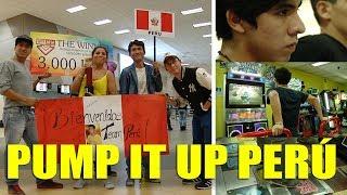 El deporte del Pump It Up en el Perú, máquinas de baile