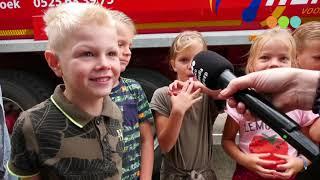 Praktijkles landbouwvoertuigen bij basisscholen in Oosterwolde en Noordeinde