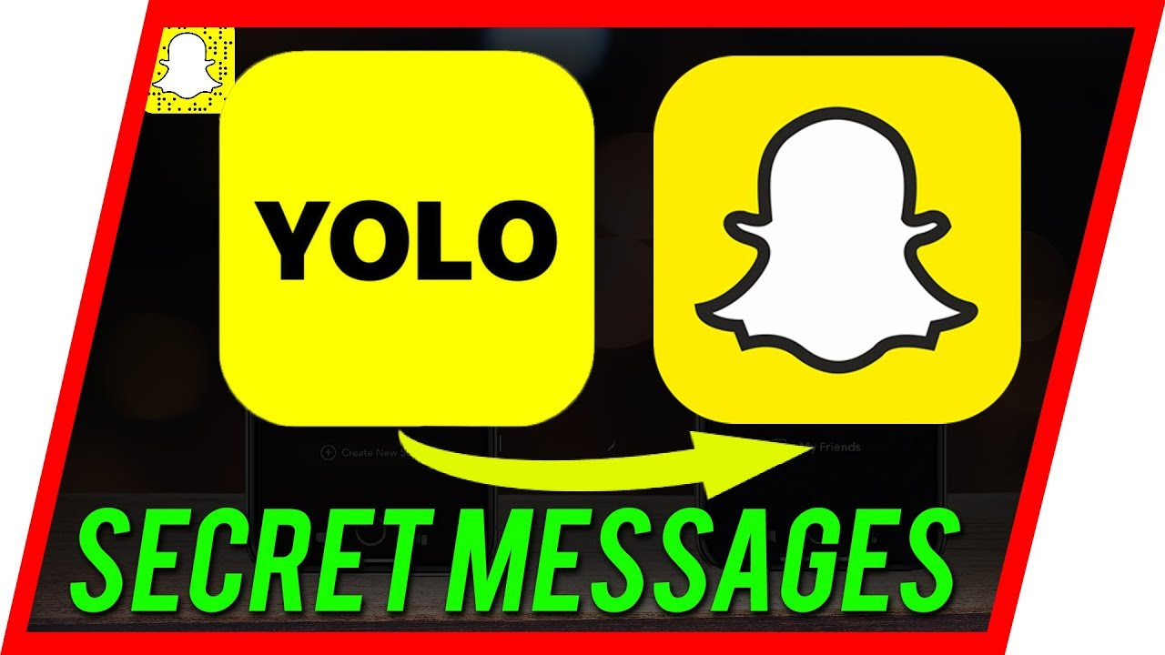 How to Use Yolo in Snapchat - Get Anonymous Secret Messages