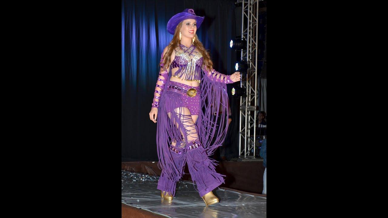 Excepcional Roupas de Rodeio Feminina - Lucilene Urbanovski - YouTube KY99