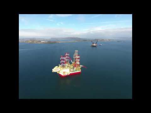 Maersk Invincible, Stavanger