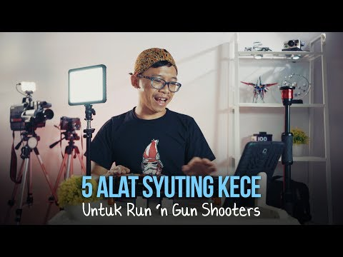 5 Alat Syuting Kece Untuk Run 'n Gun Shooters
