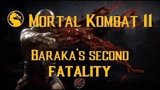 Mortal Kombat 11:   Baraka second fatality