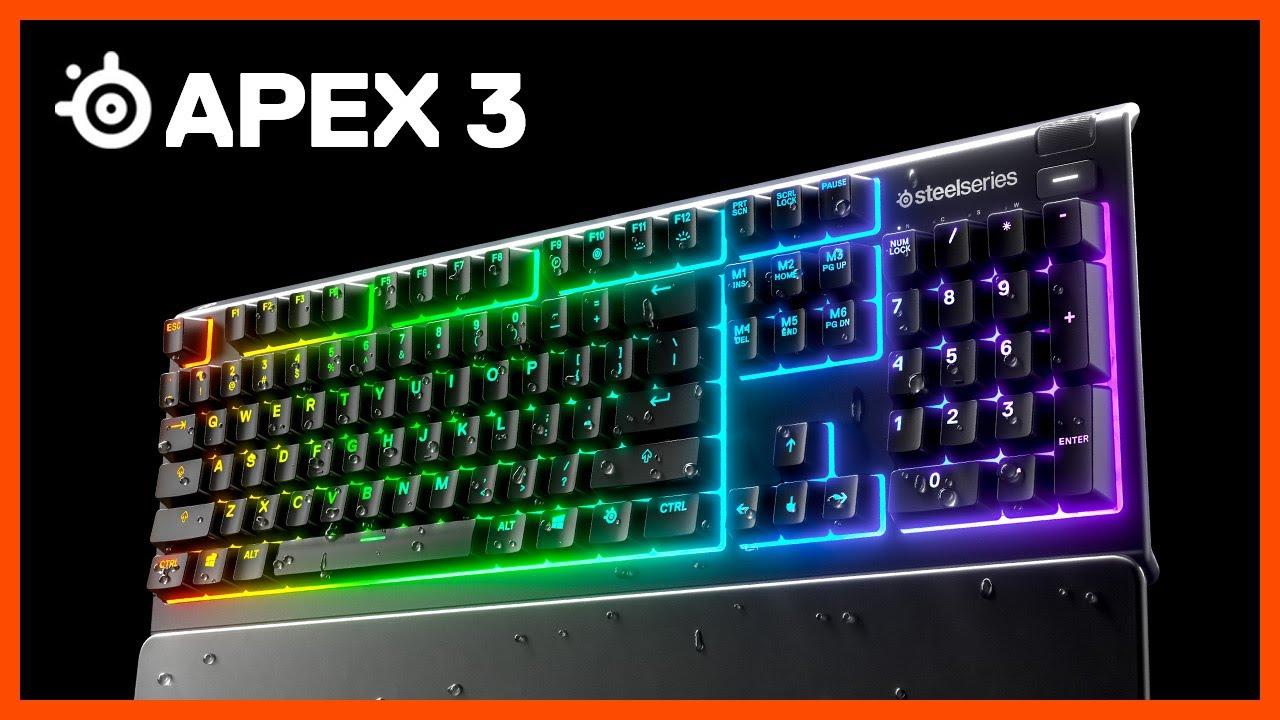 SteelSeries Apex 3 Gaming Tastatur Gaming tastatur