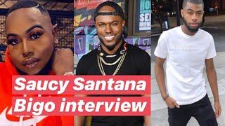 Saucy Santana almost gets read during interview on Bigo w/ Milan Christopher, ZAE vs WEST!