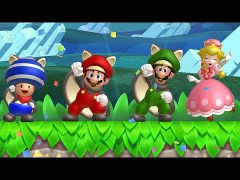 New Super Mario Bros U Deluxe - Coin Battle (All Courses)