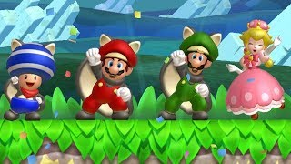 New Super Mario Bros U Deluxe - Coin Battle (All Courses)