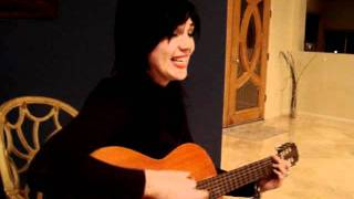Anna Onica Judah singing a song about spring and love ))) by Sergei Nikitin