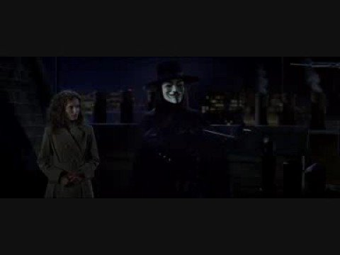 V for Vendetta: The Old Bailey Blows Up