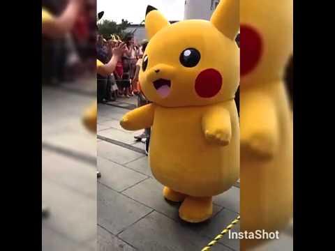 pikachu festival yokohama japan