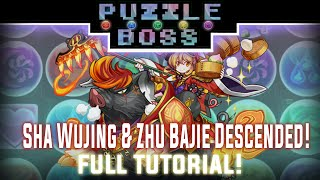 Sha Wujing & Zhu Bajie Descended! - Full Tutorial! - Puzzle and Dragons - パズドラ