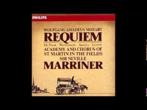 Mozart, Requiem, Neville Marriner