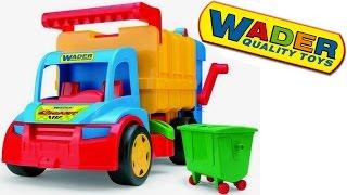 МАШИНКА МУСОРОВОЗ ГИГАНТ WADER 67000 Развивающий мультик для детей(В видео показан большой и красивый мусоровоз ГИГАНТ WADER 67000 Группа ВК → http://vk.com/arsiktoys Спасибо, что смотрите..., 2015-04-16T08:51:07.000Z)