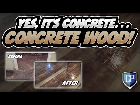 Concrete Wood Flooring - Raleigh NC