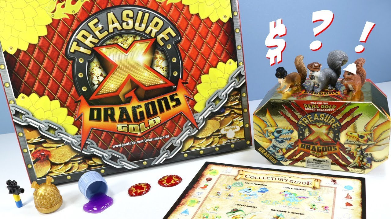 Nouveau trésor x Dragons Gold Mini Beast Pack