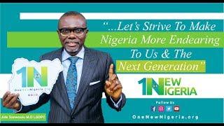 Jide Sanwoolu M.D LSDPC Speaks On One New Nigeria