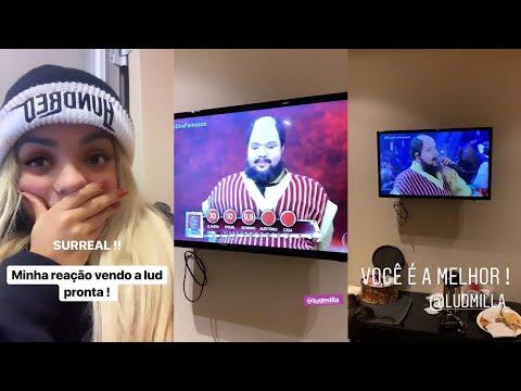 Reação Da Brunna Gonçalves Ao Vê Ludmilla Se Apresentando e Indo Pra Final No Show Dos Famosos