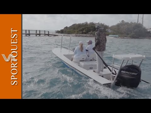 The Bair's Lodge Bonefish Fly Fishing Experience, Bahamas