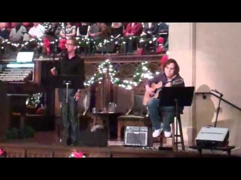 Michael Passons sings