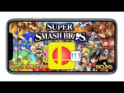 Super Smash Bros IOS 11.3.1 (iSSB 2.21) NO JAILBREAK / NO PC - App iPhone & iPad