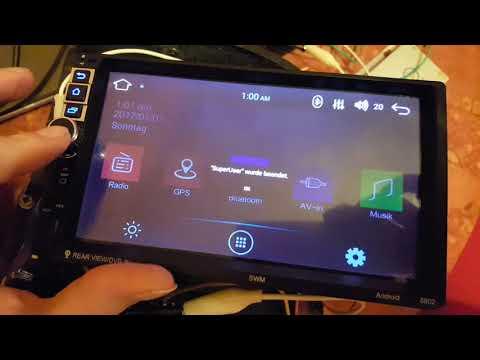 (UPDATE)(I Need Help) New problem with my SWM8802 Car Radio Reboot loop