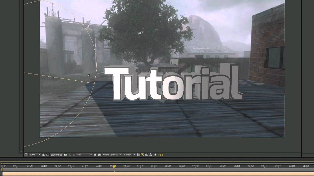 After effects tutorial 3d text motion tracking in depth youtube baditri Choice Image