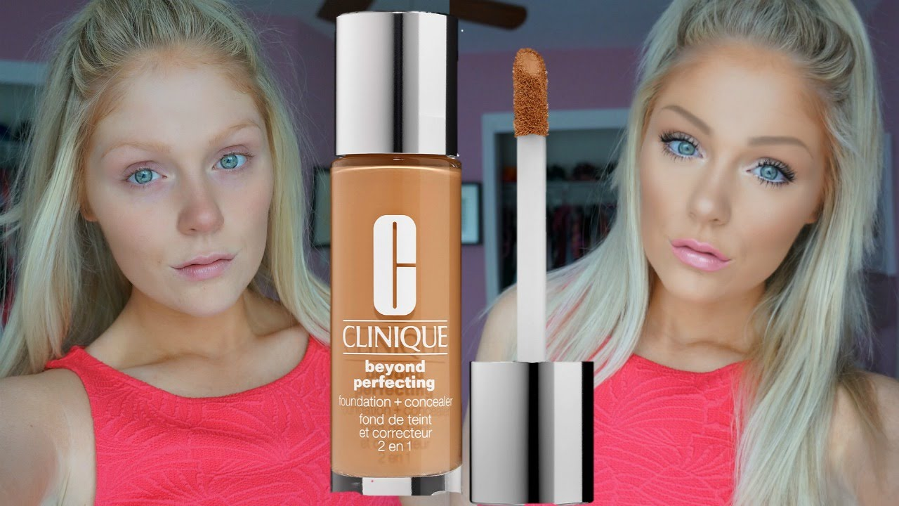 Clinique Beyond Perfecting Foundation Concealer Review Demo