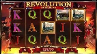 REVOLUTION PATRIOT'S FORTUNE (BLUEPRINT GAMING) ONLINE SLOT