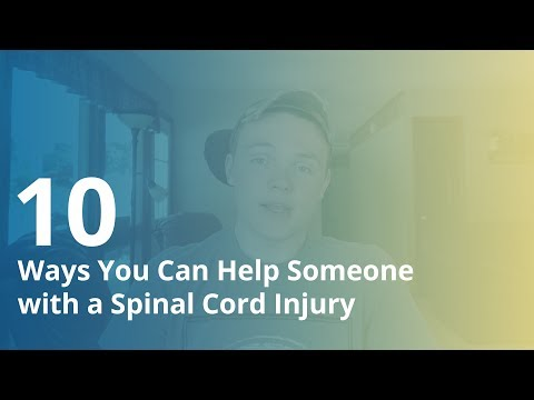 10 Ways You Can Help Someone with a Spinal Cord Injury