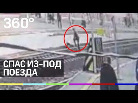 Полицейский спас мужчину от поезда в Пятигорске