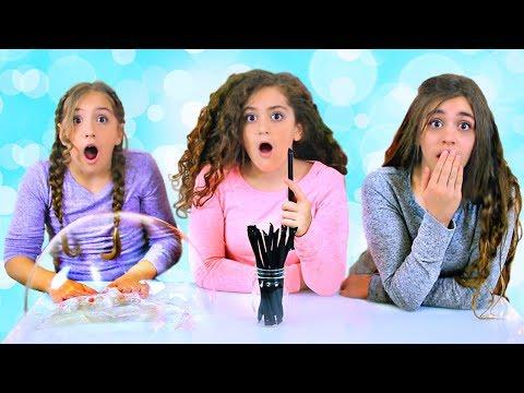 Mystery Straws of Pigment & Glitter Slime Challenge!