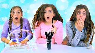 Mystery Straws of Pigment & Glitter Slime Challenge!