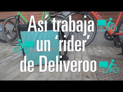 """Así Trabaja Un 'rider' De Deliveroo: """"No Estamos Asegurados Bajo Ninguna Condición"""""""