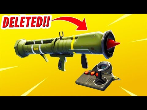 RIP Guided Missile in Fortnite...