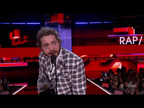 Billy the Kidd - Post Malone Wins Favorite Rap/Hip-Hop at the 2019 AMAs